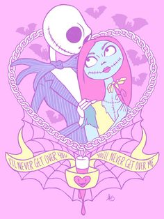 Pastel jack and Sally