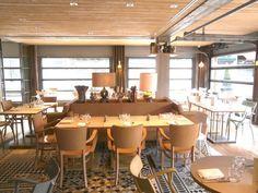 Ma Cocotte aux puces - restaurant designed by Philippe Stark at the flea market Puces de Saint-Ouen, Paris