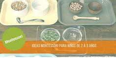 Hace poco os contaba ideas y actividades para bebés Montessori de 0 a 2 años, dividido en 2 post. Pues como era de esperar, no hay 2 sin 3. Y aquí está la tercera parte tan deseada por muchas mamis…