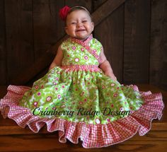 Cranberry Ridge Design: Create Kids Couture releases Clover pattern and it...