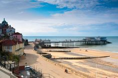 We love this place. Beautiful sand and crabbing from the pier. Lovely. Cromer, Norfolk.