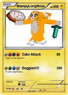 pokmon stampylongnose 41 41 cake attack my pokemon card