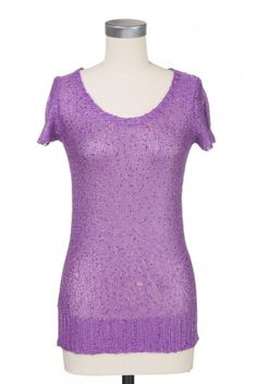Type 2 Nighttime Sparkle Sweater in Purple - $29.97