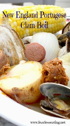 New England Portuguese Clam Boil | Fearless Eating