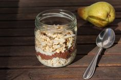 Schoko-Chiapudding Overnight Oats