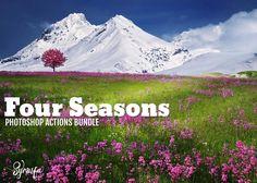 Four Seasons Photoshop Actions Bundle