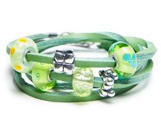 Leather Trollbead bracelet...I have one in black :)