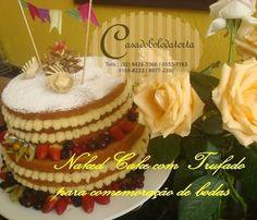 NAKED CAKE PARA CASAMENTOS E ANIVERSÁRIOS