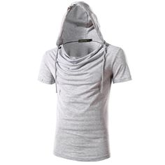 2017 New Fashion Products Mens Hooded Solid Multi Colors Tops Tees Mans  Streetwear Hip Hop Skateboard Swag Stylish T Shirt 49b57647041