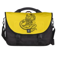 Skull - Devil Head with Snake - Commuter Bag - NEW by Krisi ArtKSZP on Zazzle