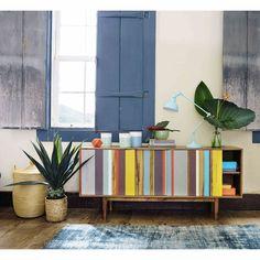 mueble reciclado / 7 formas de mejorar tu salón en un fin de semana #hogarhabitissimo