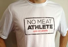 No Meat Athlete Shirt by No Meat Athlete - Vegan Cuts