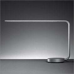One Line Rotational LED Desk Lamp; Ora Ito for Artemide