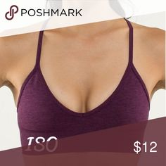 ISO: lululemon ebb to street in this deep purple NOT FOR SALE! Comment if you know where I can get it! lululemon athletica Intimates & Sleepwear Bras