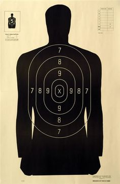 target practice silhouette - Google Search