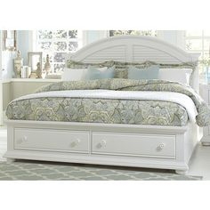 Shop for Summer House Oyster White Cottage Storage Bed. Get free shipping at Overstock.com - Your Online Furniture Outlet Store! Get 5�0in rewards with Club O!