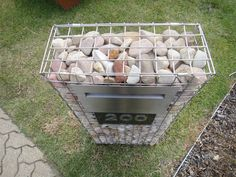 diy gabion - Google Search Gabion Cages, Cube, Wall Ideas, Diy, Google Search, Image, Mural Ideas, Bricolage, Do It Yourself