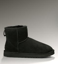 UGG Mini Classic 5854 Black Boots
