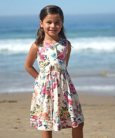 Clothing, Shoes & Accessories Dresses Sweet-Tempered Baby Lulu Boutique Girls Dress Sz 18m Summer Pink Orange Flowers Lovely