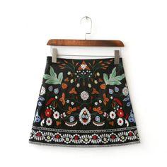 Chic Ethnic Tribal Skirt