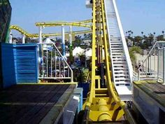 Enjoy a free, virtual ride on @Pacific Park's West Roller Coaster!