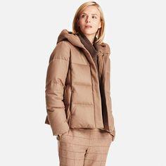 WOMEN Wool Blend Down Jacket