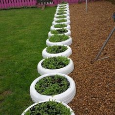 Beauty and Fresh Front Yard and Backyard Landscaping Ideas for 2019 – Tire Garden, Bottle Garden, Backyard Garden Design, Vegetable Garden Design, Backyard Landscaping, Garden Art, Landscaping Ideas, Vertical Garden Planters, Tire Planters