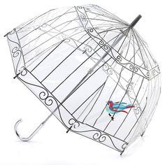 Lulu Guinness Birdcage - Birdcage - PVC Dome Umbrella-that's different!