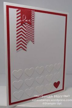 Banner Blast, Valentine Card, SUO, Stampin Up, susanstamps.wordpress.com