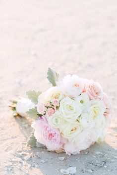romantic pink bouquet | Hunter Ryan Photo | Glamour & Grace