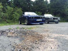 Fotku měsíce října vyhrál Ondra Lochman a jeho dvojice BMW – díky za všechny fotky :)