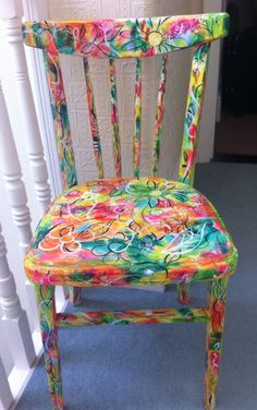 Little revamped chair