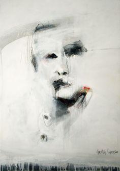 "Saatchi Online Artist Gaston Carrio; Painting, ""UNTRUTH III"" #art"