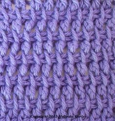 Tunisian Crochet - Double Stitch Pattern, use this link for lots of tunisian stitches  http://crochetnewstoday.com/?s=double+tunisian