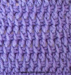 Tunisian Crochet-Double Stitch