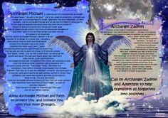 angel blessings: ARCHANGEL MICHAEL AND ARCHANGEL ZADKIEL