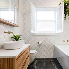 Cowra Matt White Subway Tile Shop the Cowra Matt White Subway Tile; These ceramic tiles are easy to clean and maintain. White Bathroom Tiles, Bathroom Tile Designs, Bathroom Trends, Bathroom Inspiration, White Subway Tile, Bathrooms Remodel, White Subway Tile Bathroom, White Subway Tiles, Bathroom Renovations