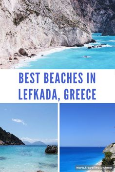 Best Beaches in Lefkada | Travellector #Lefkada #Greece #beach