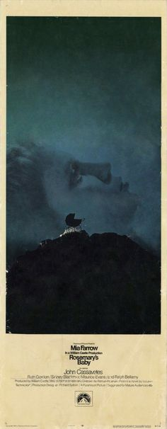 Rosemary's Baby 14x36 Movie Poster (1968)