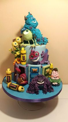 Questo è un piccolo catalogo con qualche immagine del repertorio proposto fino ad oggi per feste di compleanno e per bambini, dalla nostra cake design. In particolare torte con personaggi Disney, Pixar, Warner Bros,Dreamworks, Laika che fanno colore e perchè no, possono ispirarvi! spero vi piacciano! :)  nello specifico: festa a tema  Monsters & Co university!