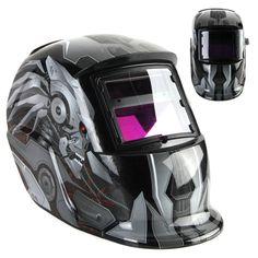 New Transformers Style Cool Solar Auto Darkening Welding Helmet ARC TIG MIG Weld Welder Lens Grinding Welding Mask