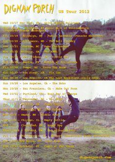 US tour Oct - Nov 2012