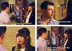 New Girl Schmidt New Girl Tv Show, Girls Show, New Girl Quotes, Tv Quotes, Best Tv Shows, Favorite Tv Shows, New Girl Nick And Jess, New Girl Schmidt, New Girl Funny