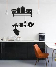 vinyl chalkboard wall stickers wallpaper kitchen chalk board decal ...