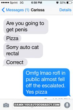 Extra large with sausage, please: | The 19 Best Autocorrect Fails Of 2015
