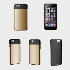 Lunatik FLAK gold case for iPhone 6 http://soundzdirect.com/lunatik-flak-iphone-6-gold/