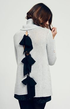 Elizabeth Sweater, Fall Paper Crown collection...inspo for DIY sweater upcycle