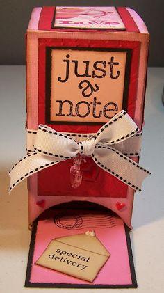 recycled tea box