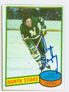 Glen Sharpley AUTO 1980-81 Topps North Stars by Regular Topps Issue. $5.00. This card was signed by Glen Sharpley and authenticated by JSA - a leading 3rd party authenticator