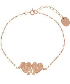 ALEX MONROE ROSE GOLD-PLATED OPEN HEART BRACELET Alex Monroe, Heart Bracelet, Jewelry Bracelets, Jewellery, Rose Gold Plates, Liberty, Gold Necklace, Luxury, Fabric